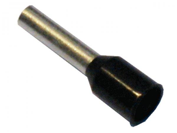 1,5mm² (HLS) Aderendhülsen Schwarz (500 Stück)