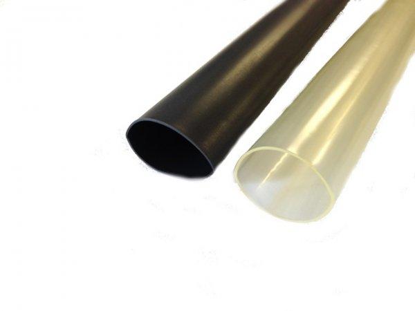 S2451 Größe 24mm/8mm Schrumpfschlauch mit Kleber (1,2m Länge)