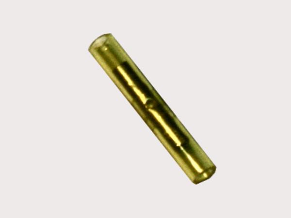 0,1mm²-0,5mm² NYLON Stoßverbinder Gelb (100 Stück)