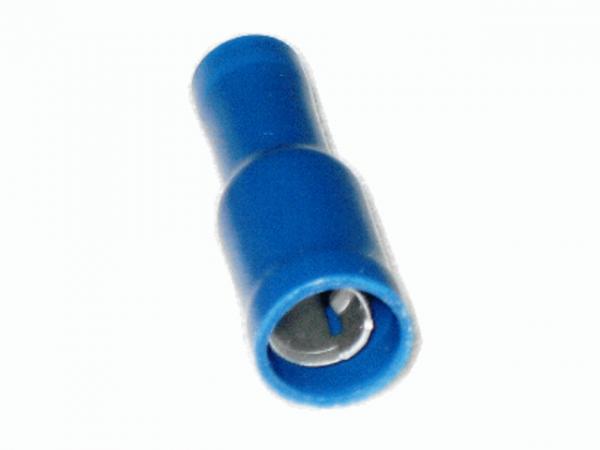 1,5mm²-2,5mm² (5mm) PVC Rundsteckhülsen BLAU (100 Stück)