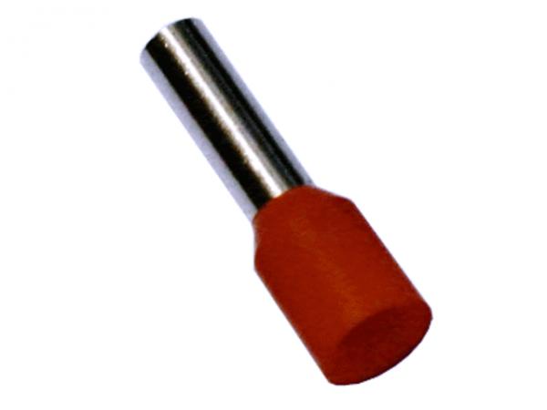 4,0mm² Aderendhülsen Orange (500 Stück)