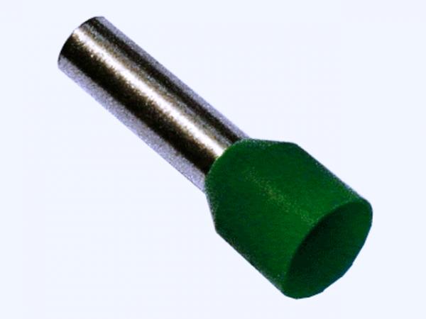 6,0mm² Aderendhülsen Grün (100 Stück)