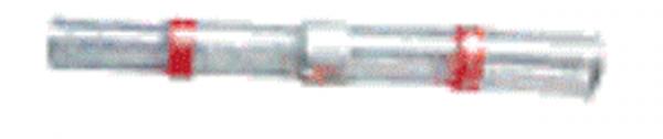 (45.560) Schrumpfschlauch Lötverbinder 0,5mm²-1,5mm² Rot mit Kleber Typ SSLV (100 Stück)