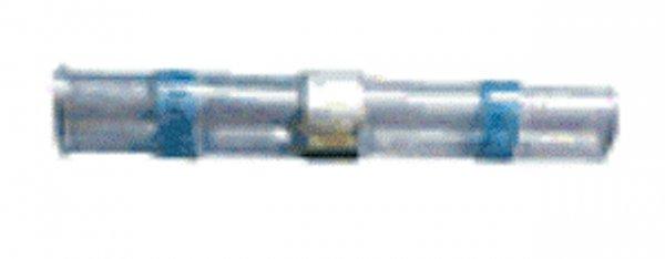 (45.561) Schrumpfschlauch Lötverbinder 1,5mm²-2,5mm² Blau mit Kleber Typ SSLV (100 Stück)
