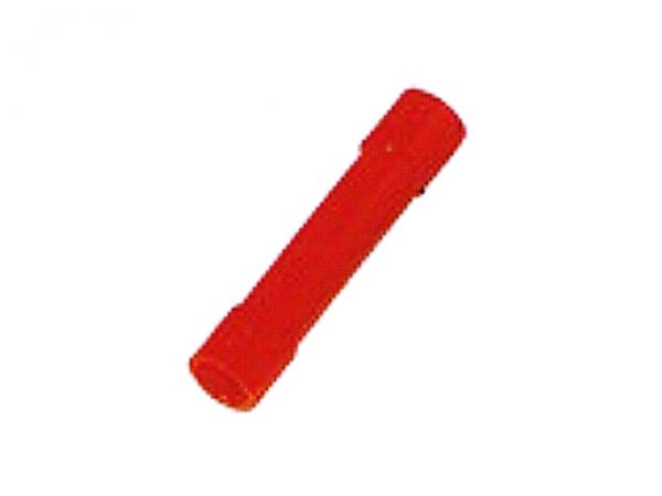 0,5mm²-1,5mm² PVC Stoßverbinder ROT (100 Stück)